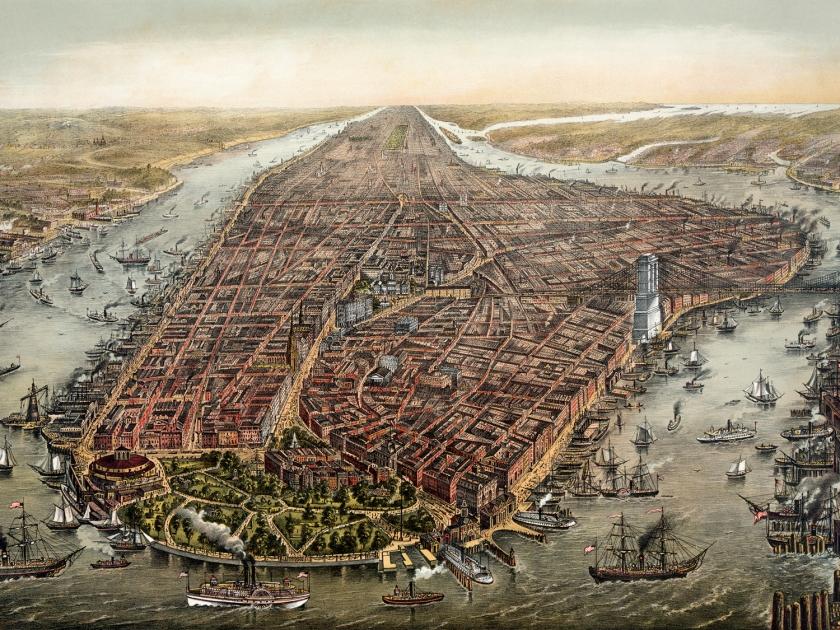 Nova York, em 1873