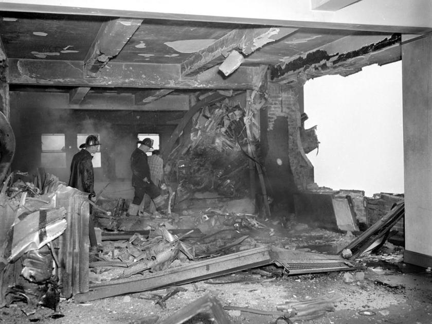 Acidente aéreo abriu um buraco no 79° andar do Empire State Building em 1945
