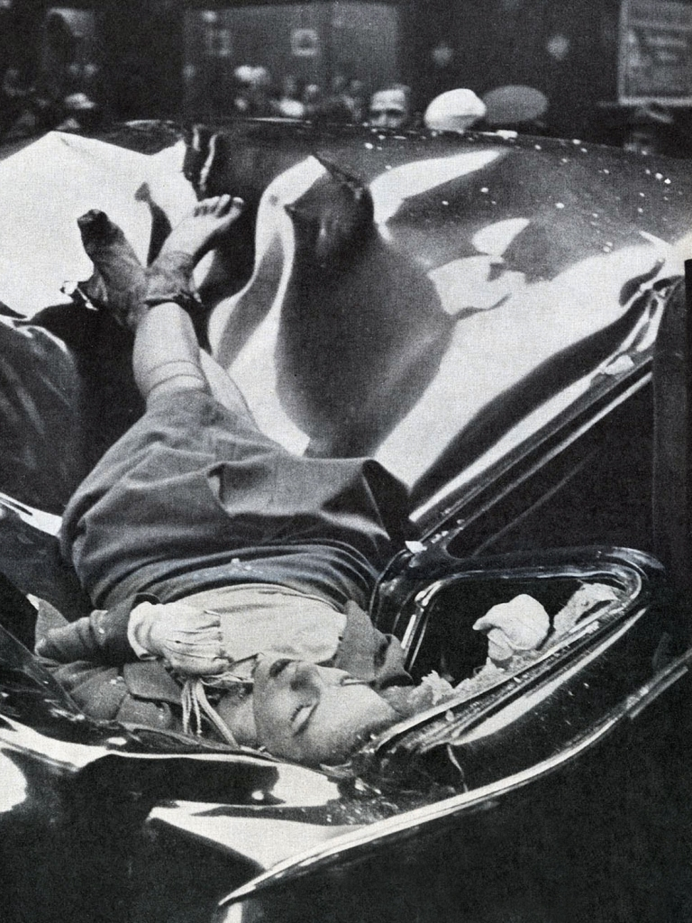 Em 1947, Evelyn McHale pulou do observatório do Empire State Building
