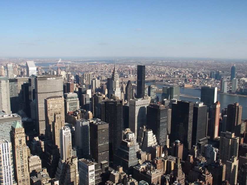 Vista do 86° andar do Empire State Building