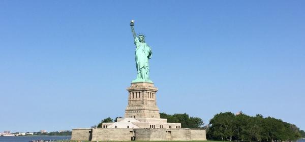 Estátua da Liberdade, em 2014