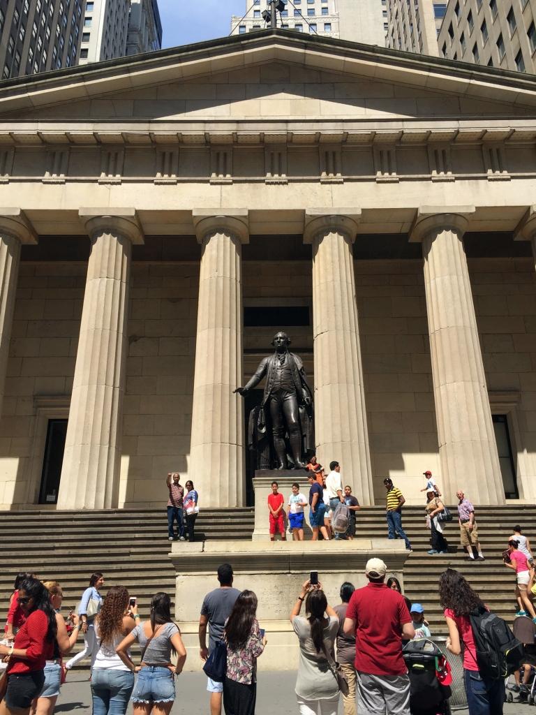 Federal Hall, em 2015