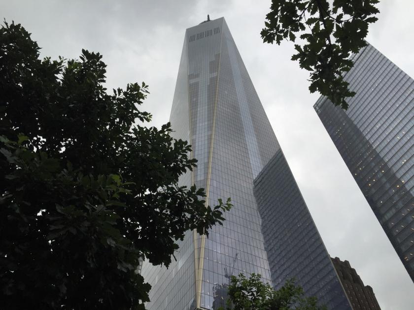 One World Trade Center, construído depois dos atentados de 11/09/2001