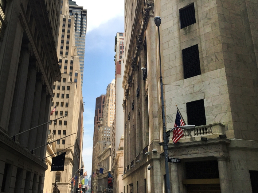 New York Stock Exchange, em 2015