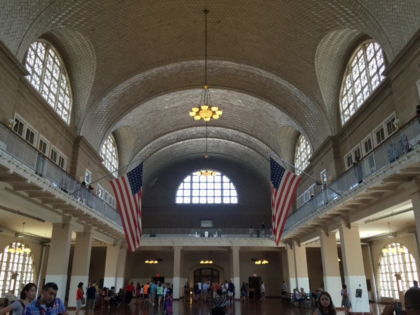 Main Hall do Ellis Island National Museum of Immigration