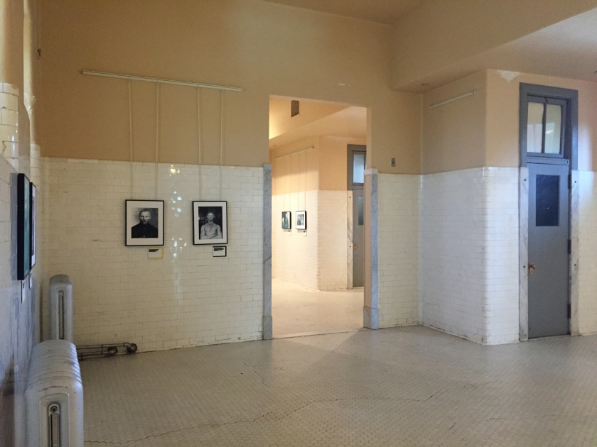 Nova York - Salas por onde passavam os imigrantes que na Ellis Island