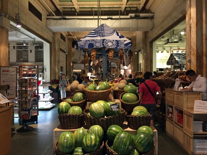 Mercado do Eataly, em Nova York