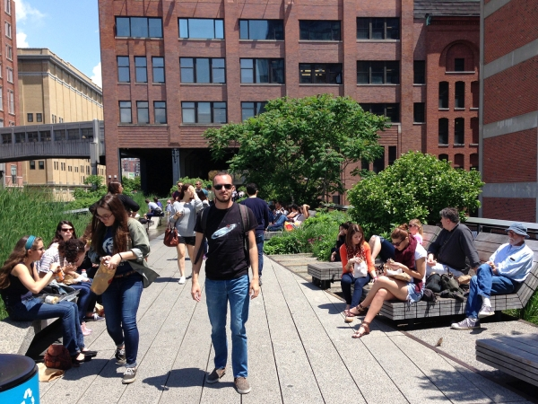 Caminhada no High Line Park