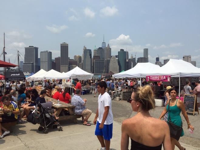 Smorgasburg, festival de gastronomia no Brooklyn Bridge Park