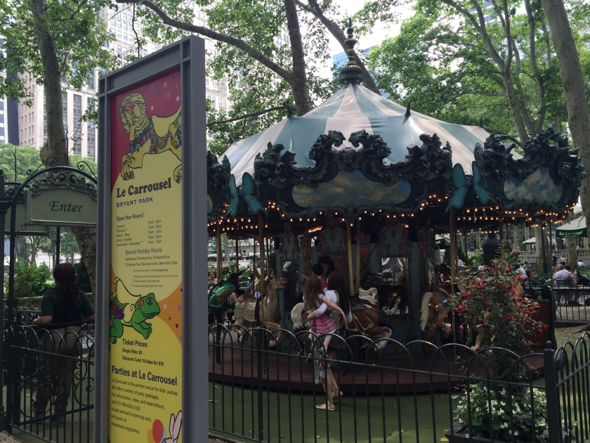 Carrossel do Bryant Park