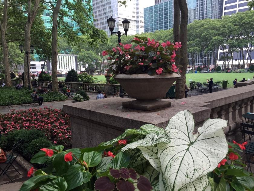 Jardim do Bryant Park