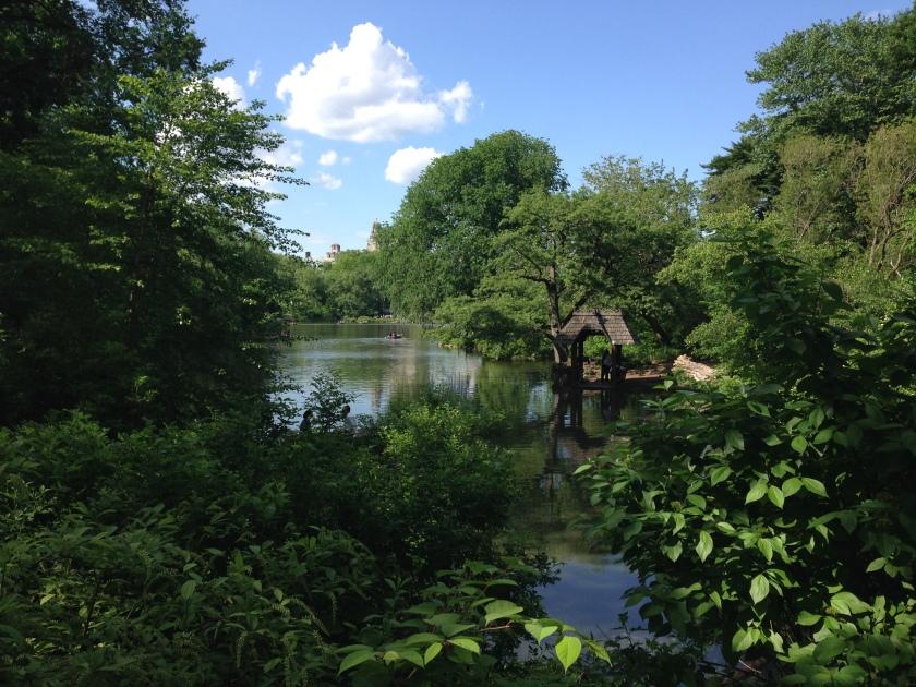 The Lake no verão