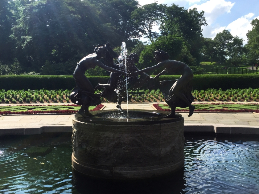 Three Dancing Ladies, no Conservatory Garden