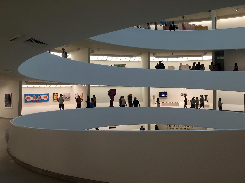 Parte interna do Guggenheim Museum