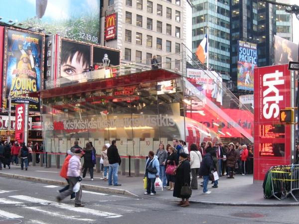 Bilheteria da TKTS na Times Square | Foto: Jim Henderson