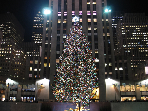 Árvore de Natal no Rockefeller Center