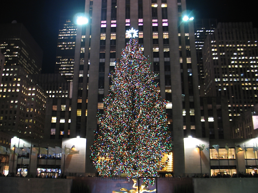 Árvore de Natal no Rockefeller Center