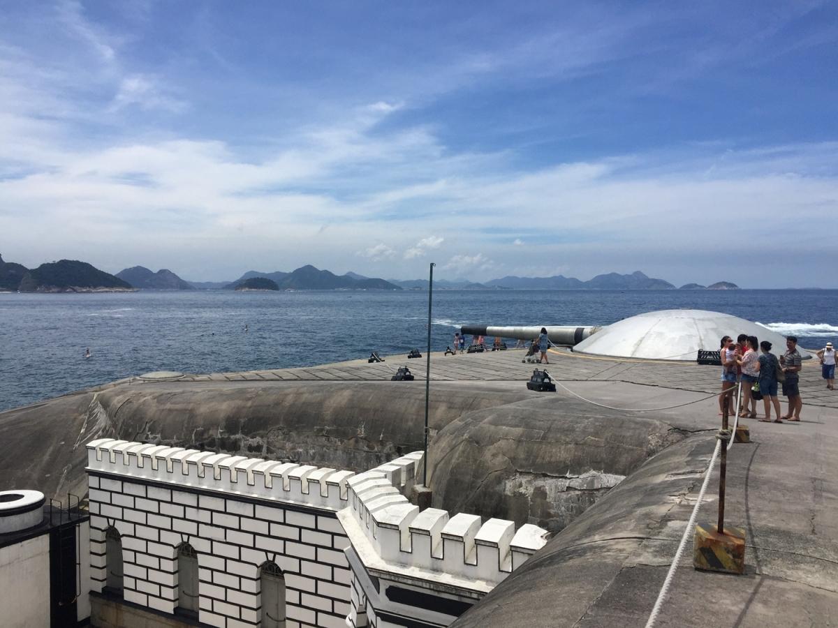 Rio de Janeiro – Forte de Copacabana – Viajento