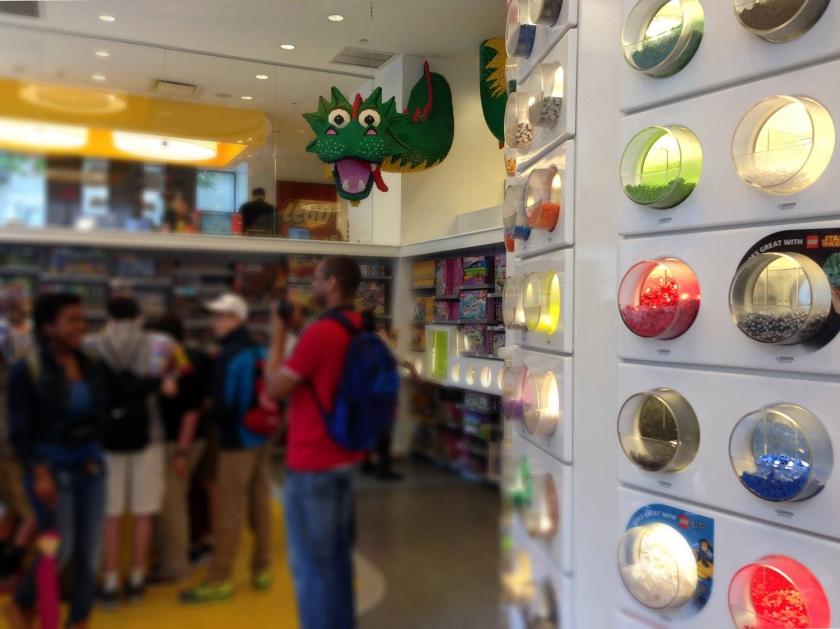 Lego Store, no Rockefeller Center