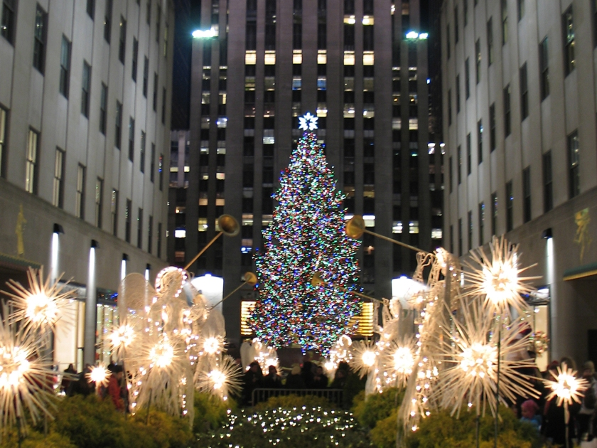 Decoração de Natal do Rockfeller Center