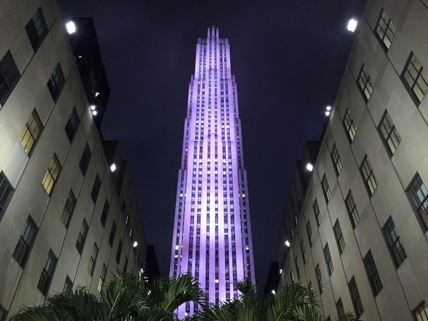 Comcast Bulding, no Rockefeller Center