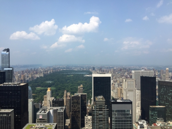 Central Park visto do Top of the Rock
