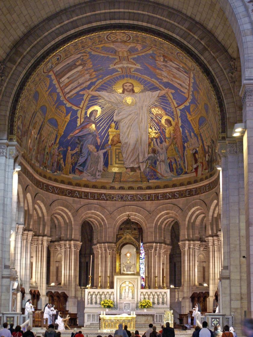 Mosaico da Basilique du Sacré-Cœur
