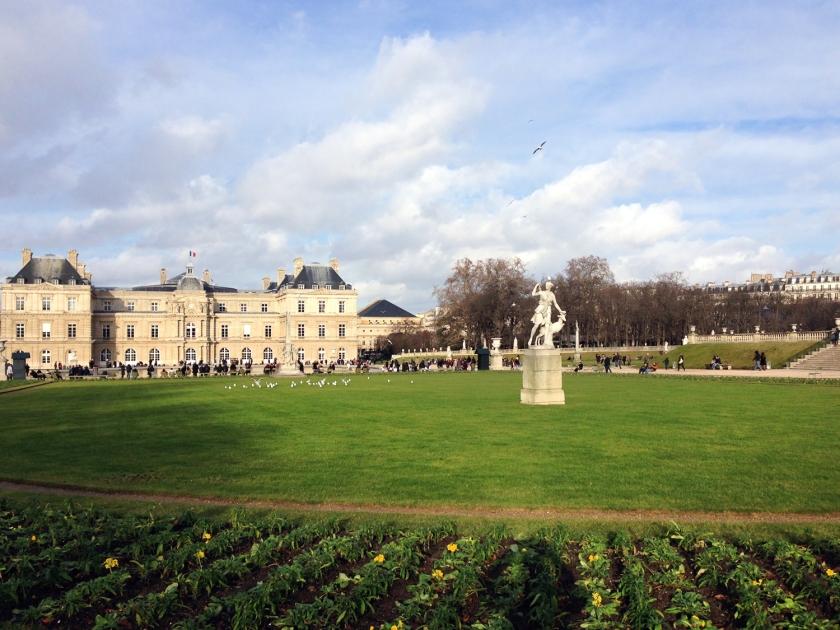 Palais du Luxembourg, no Jardin du Luxembourg