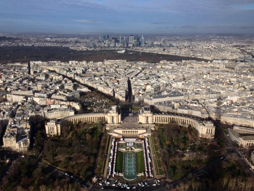 Paris vista da Torre Eiffel