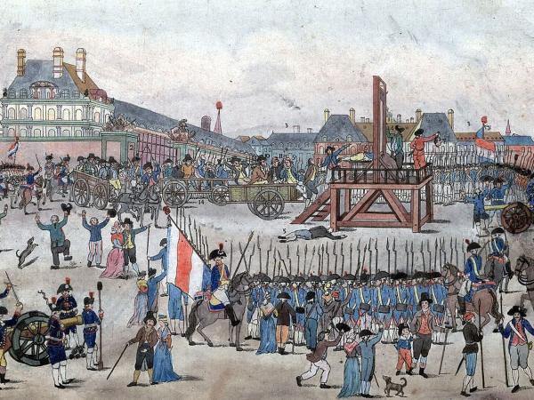 Praça da Revolução, em Paris