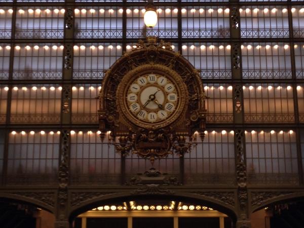 Relógio da fachada do Musée d'Orsay
