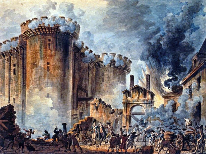 Tomada da Bastilha, em 14 de julho de 1789