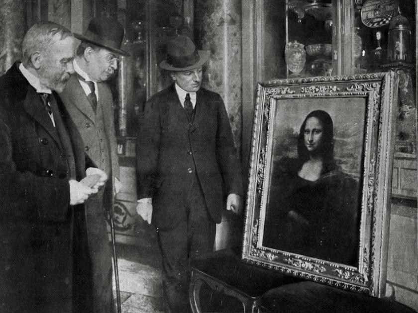 Mona Lisa exposta em museu italiano