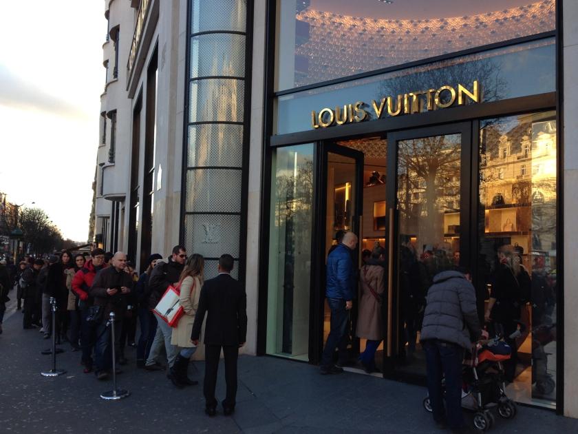 Louis Vitton da Champs-Elysées
