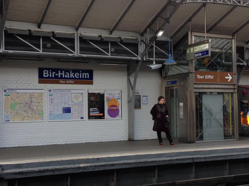 Estação de metrô Bir-Hakeim