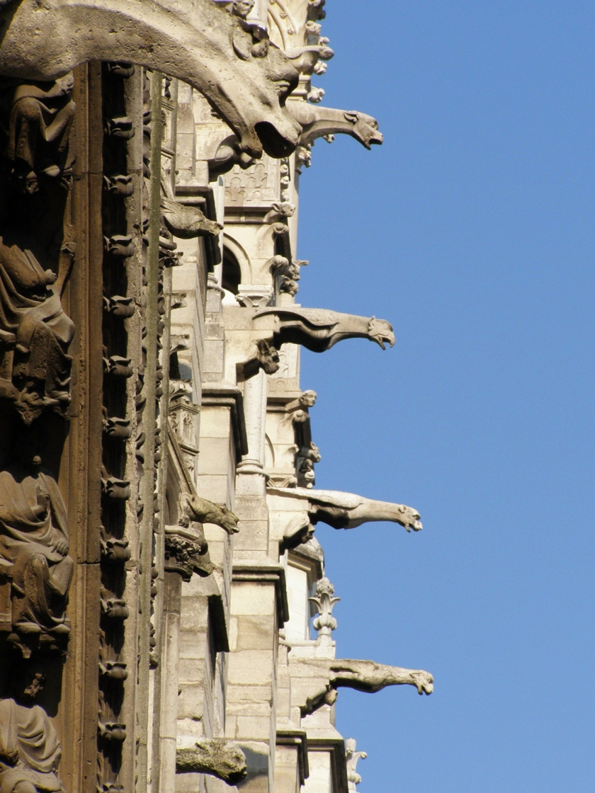 Gárgulas da Catedral de Notre-Dame | Foto: Krzysztof Mizera