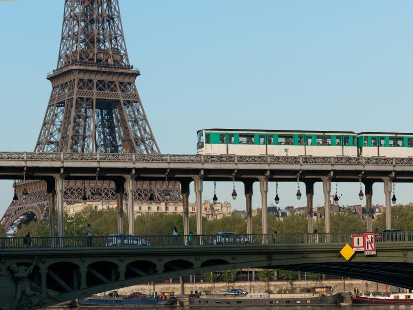 A ponte Bir-Hakeim | Foto: DRX