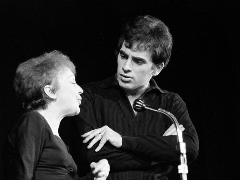 Com o marido Théo Sarapo, em 1962 | Foto: Eric Koch - Anefo