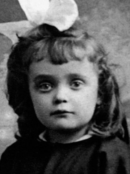 Édith Piaf quando criança
