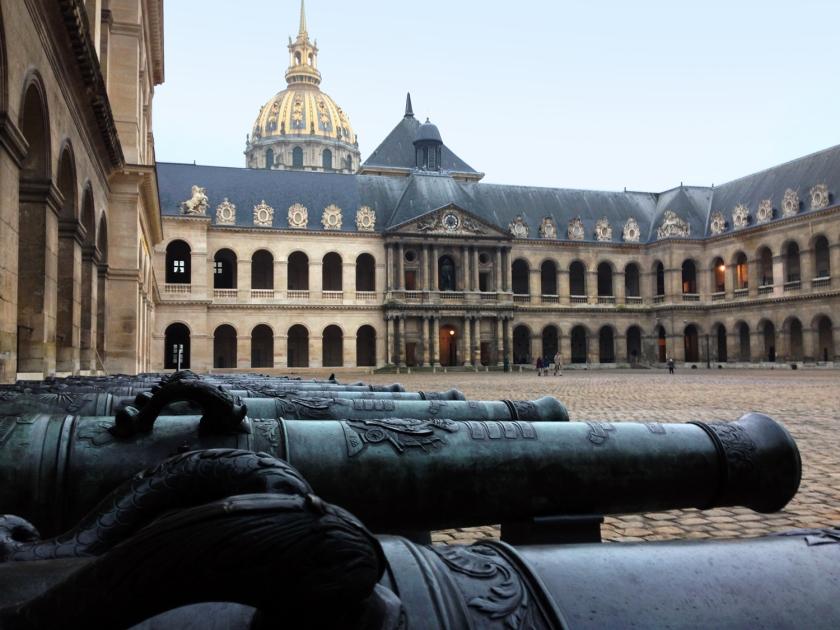 Artilharia exposta Les Invalides