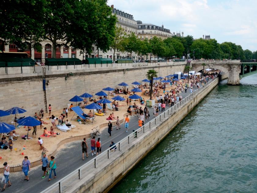 Paris-PlagesParis-Plages | Foto: Peter Haas