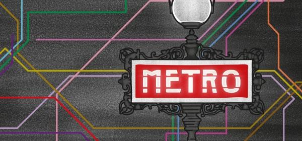 """Caderneta """"Metrô"""", da Coleção Paris"""