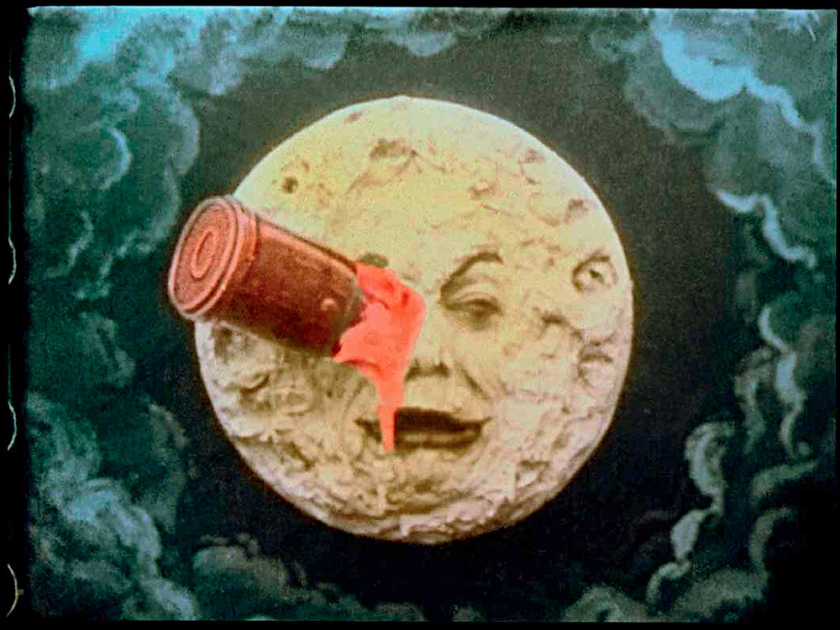 Fotograma de Voyage Dans la Lune