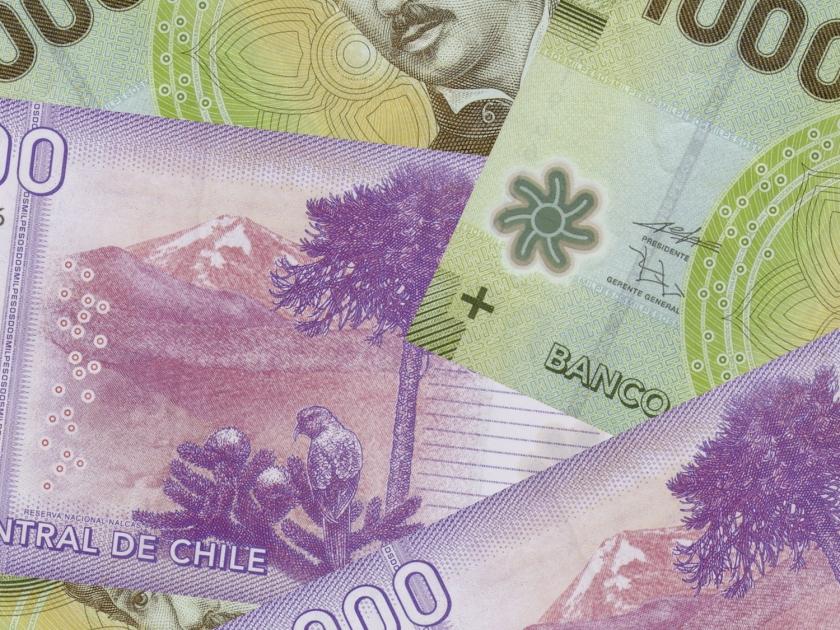 Notas de pesos chilenos