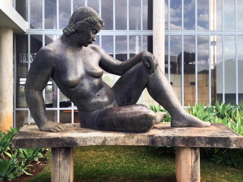 Nu, escultura de Conde August Zamoyski