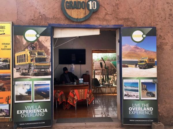 Agência da Grado 10 em San Pedro de Atacama