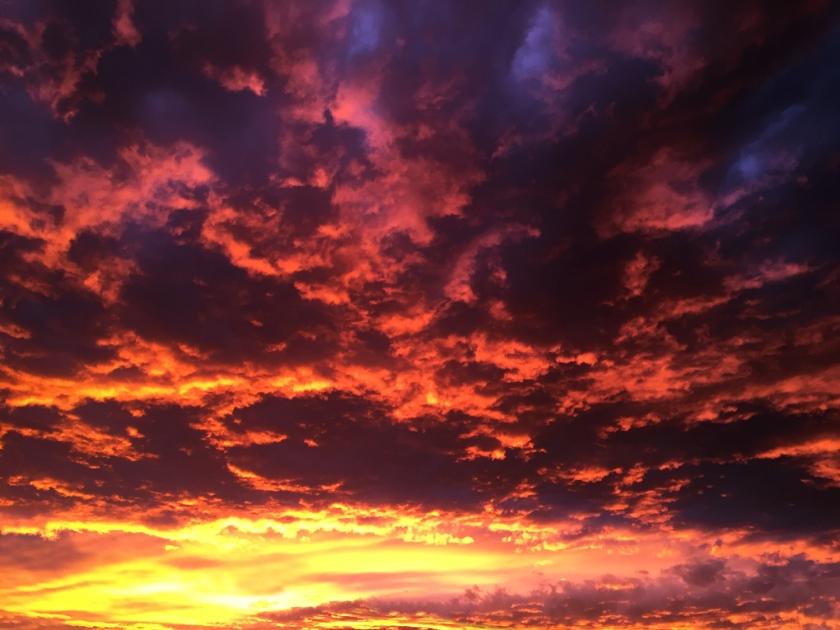 Pôr-do-sol em San Pedro de Atacama