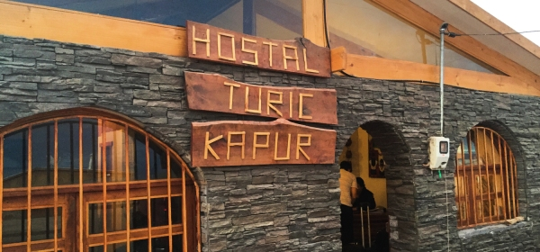 Entrada do Hostal Turickapur