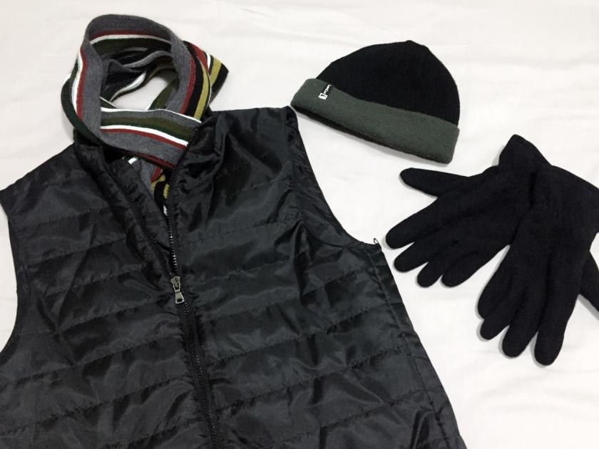 Acessórios e roupas de frio