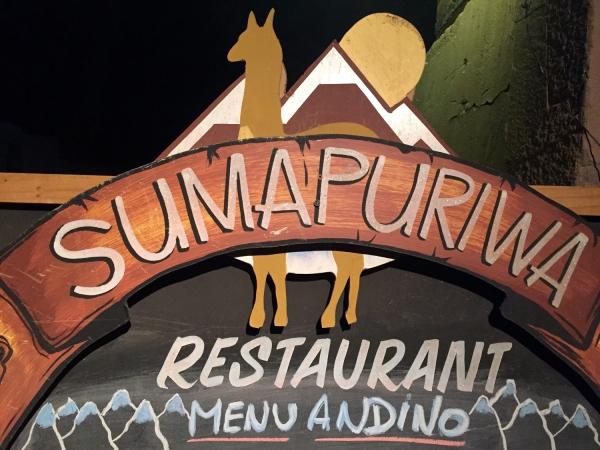 Restaurante Sumapuriwa